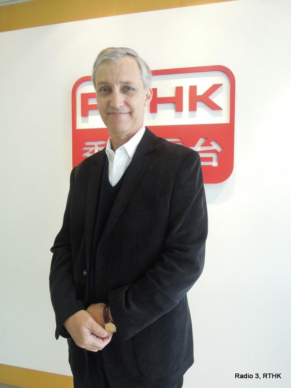 Simon Haines. Photo credit: rthk.hk